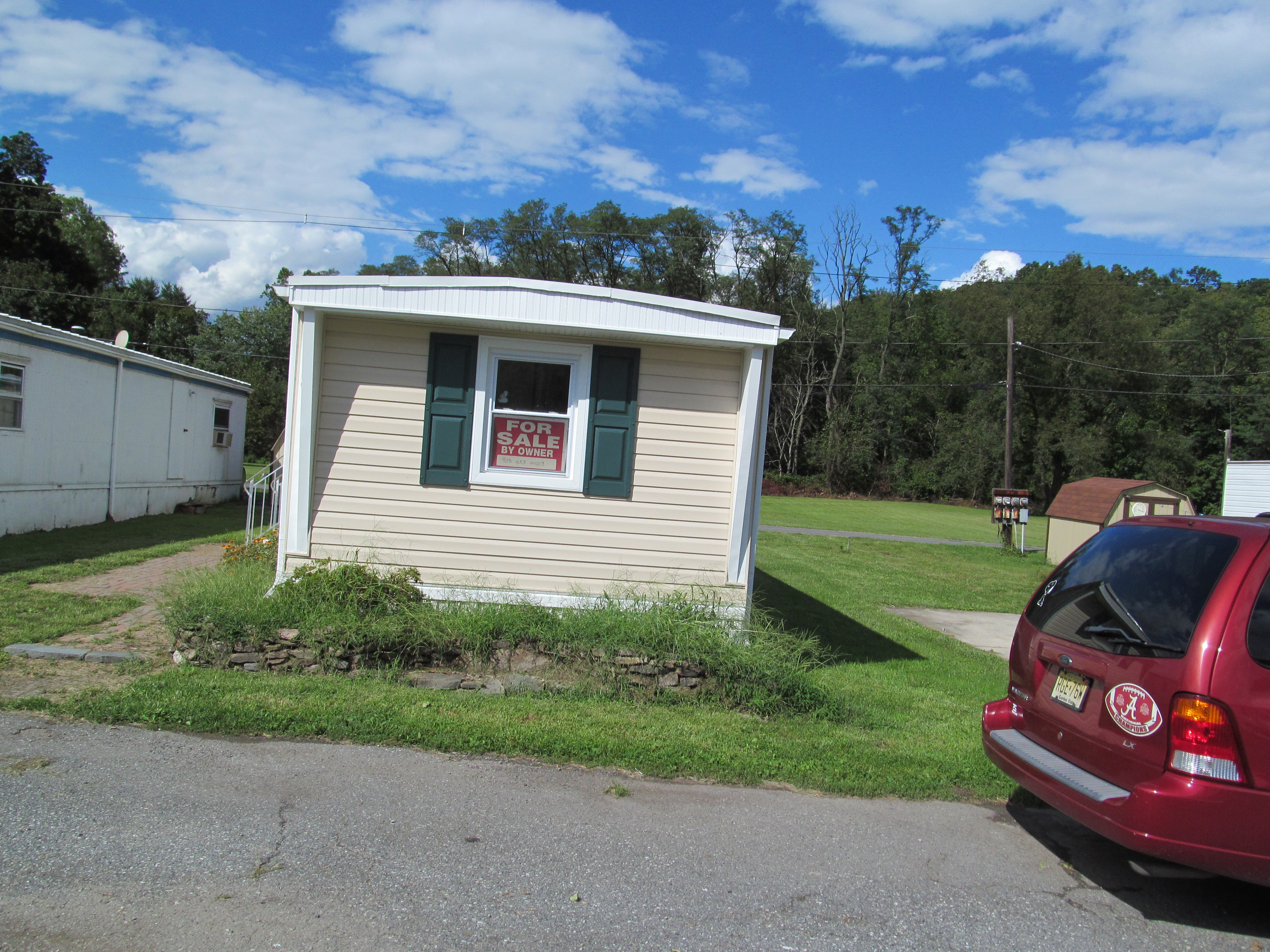 mobile home improvement front