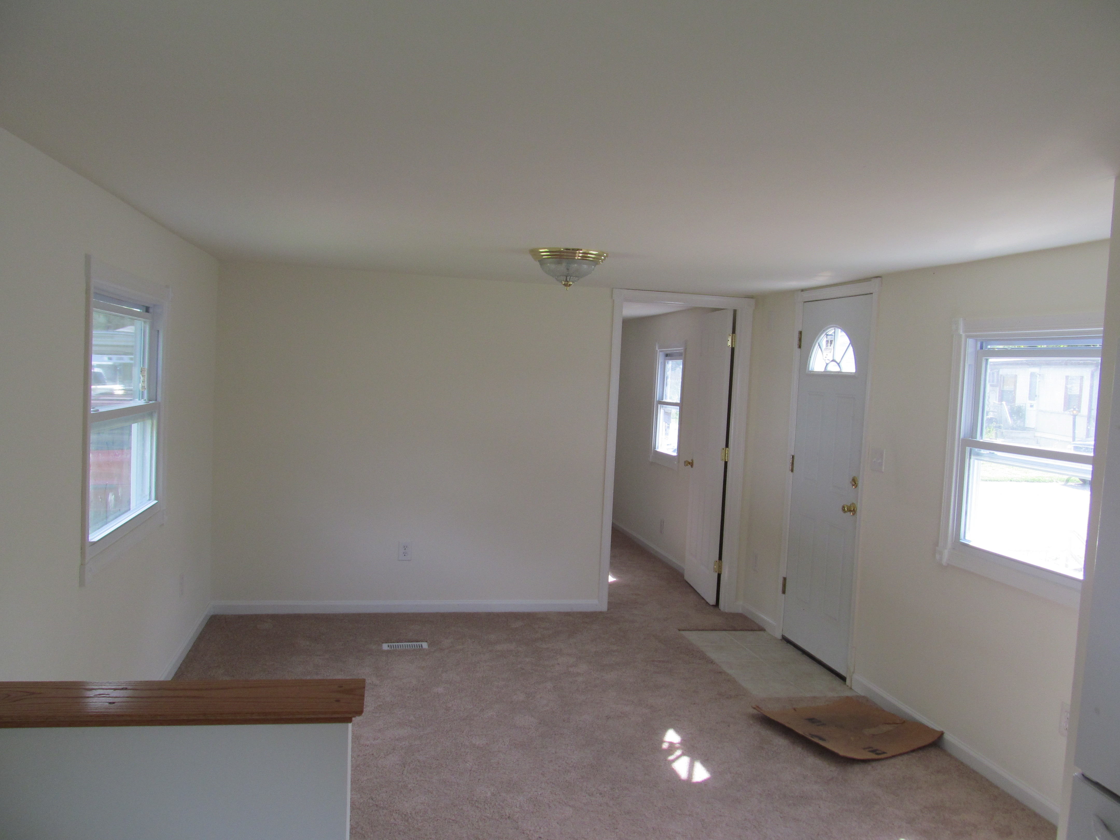 mobile home improvement front room