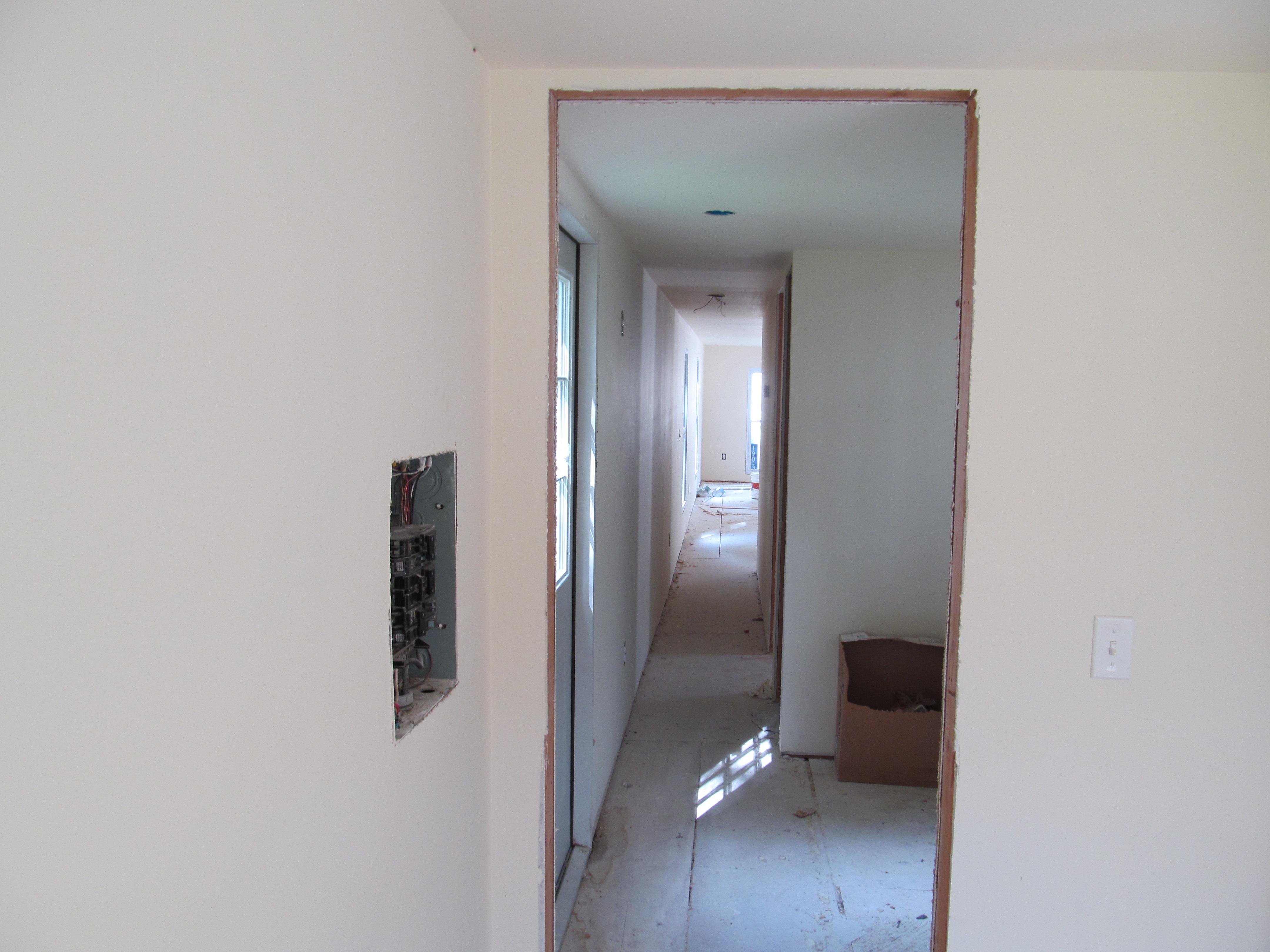 mobile home improvement hallway