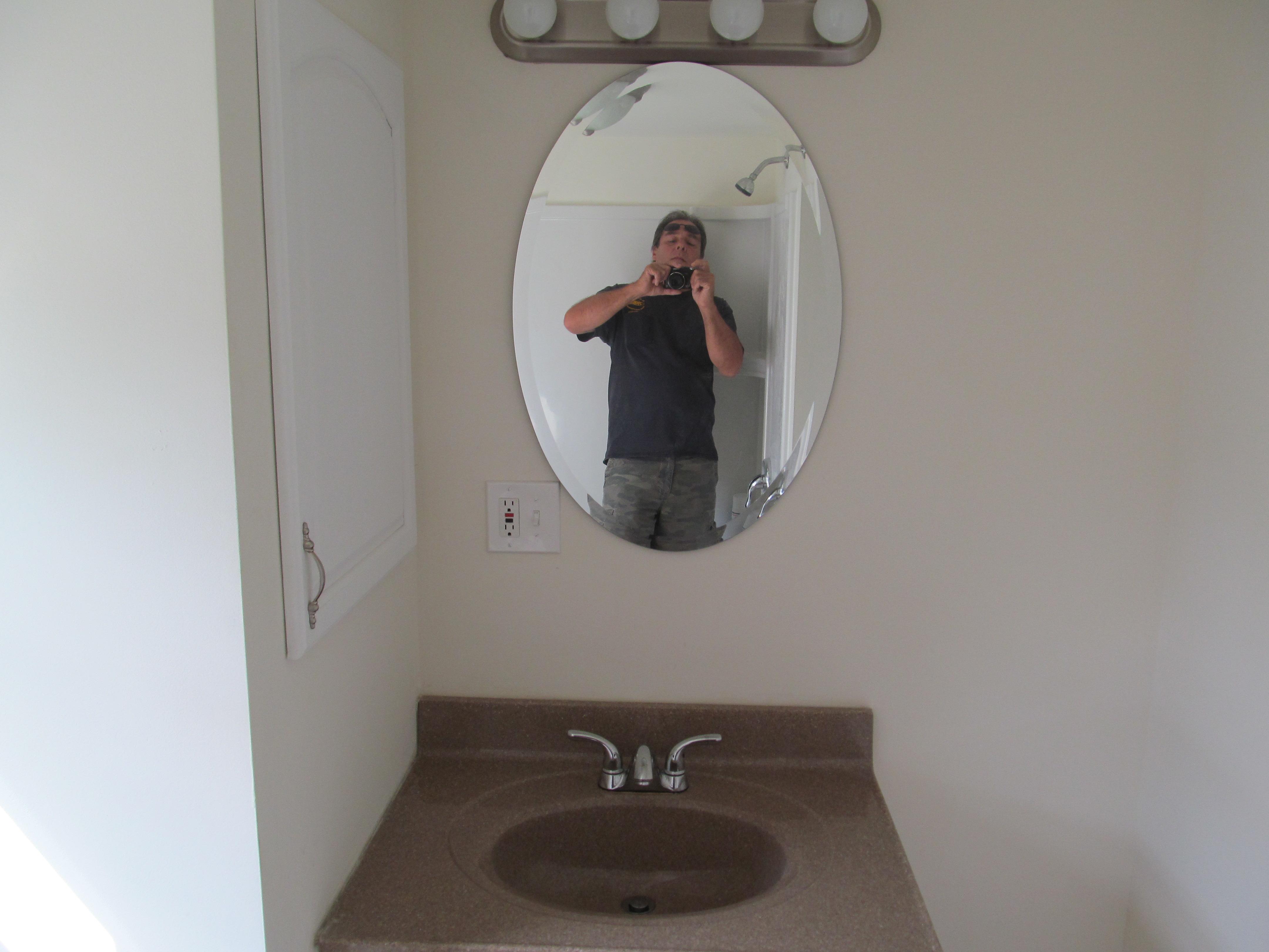 mobile home improvement bathroom sink